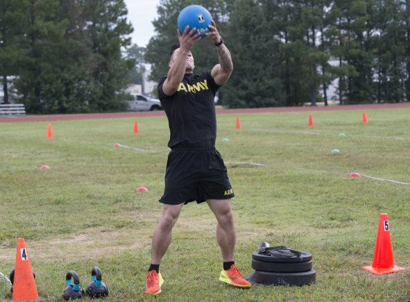 Army Combat Readiness Test — Power Throw – NEW: Combat ...
